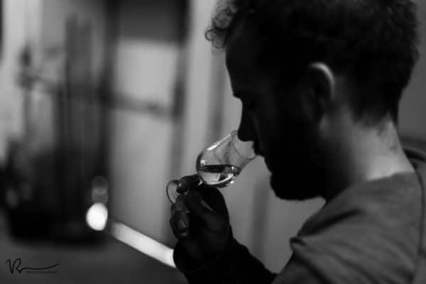 Distillation et arôme de l'eau de vie de Cognac